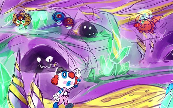 Cave Land Concept