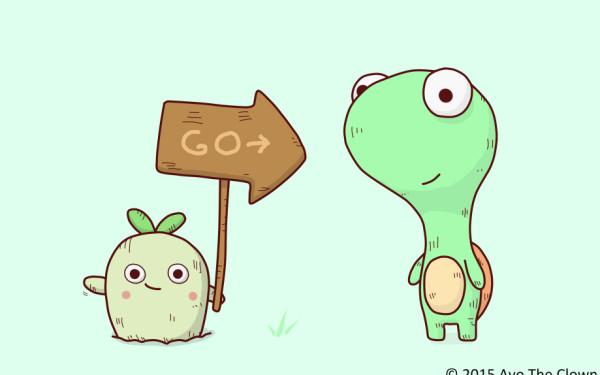 Turtle & Radish