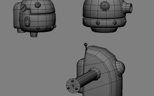 Factory Enemies Model